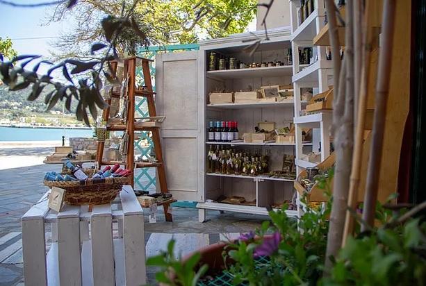 Olive shop Skopelos