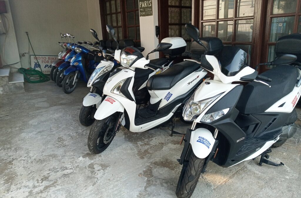 Ενοικιάσεις μοτοποδηλάτων και μηχανών στη Σκόπελο – Πάρης